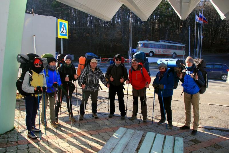 Первый старт похода по Крыму сезона 2021