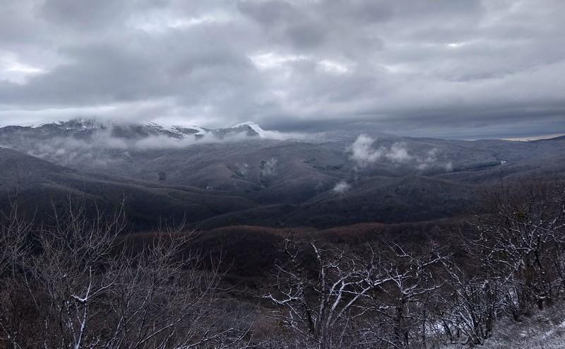 Из Рождественской сказки горы Чатыр-Даг