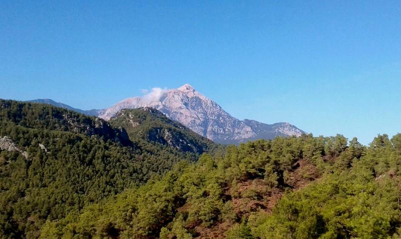 Гора Тахталыдаг Турции