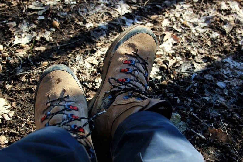 Треккинговая обувь для пеших походов по Крым зимой - Dachtein
