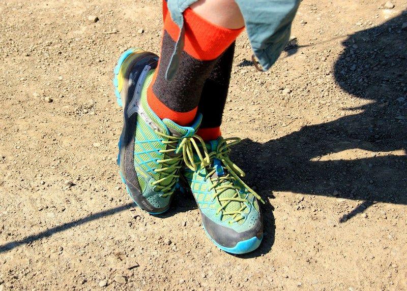 Походная обувь в горном Крыму