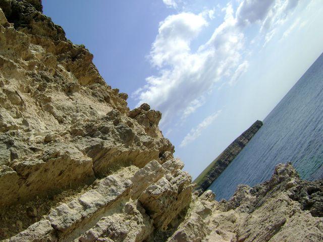 Тарханкут - по границе с морем или лучше поздно, чем никогда.))