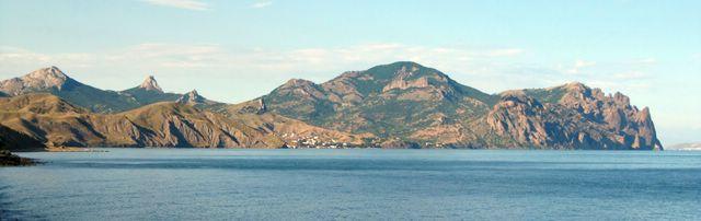 Вулканический массив Кара-Даг