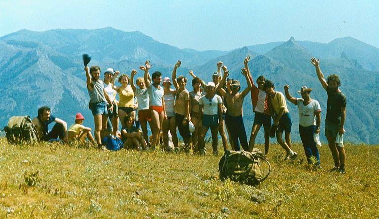 Как все начиналось. Мои первые походы в горном Крыму